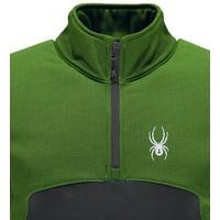 Spyder Mens Capitol Fleece 1/2 Zip Insulator Jacket 321 Fresh/Polar - (17/18)