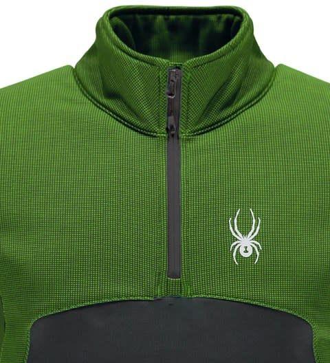 SPYDER Spyder Mens Capitol Fleece 1/2 Zip Insulator Jacket 321 Fresh/Polar - (17/18)