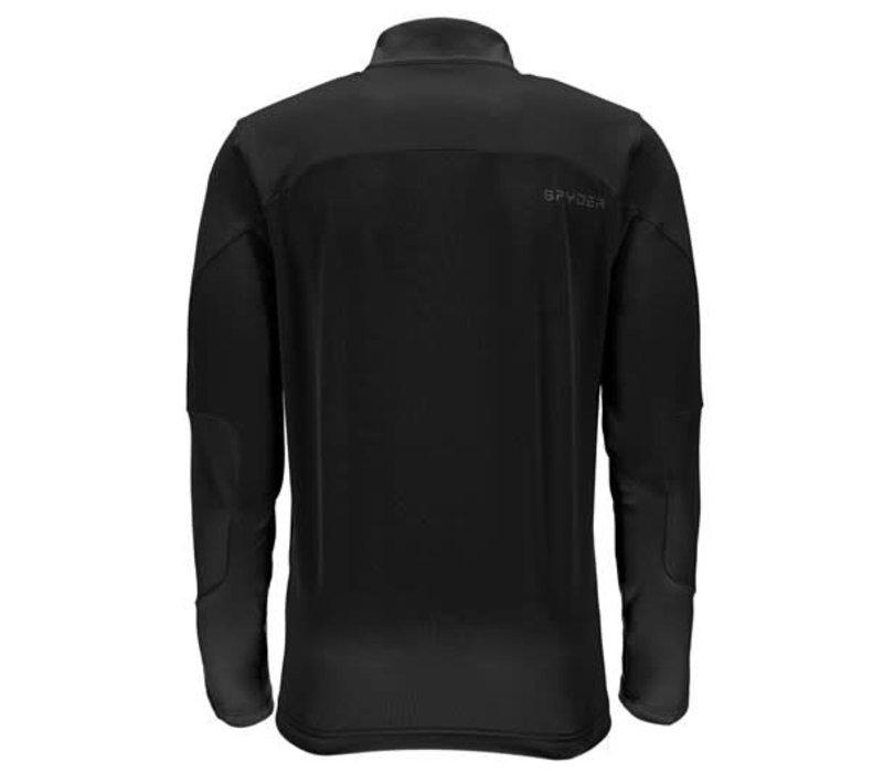 Spyder Mens Charger Thermastretch T-Neck 001 Black/Black/Black - (17/18)