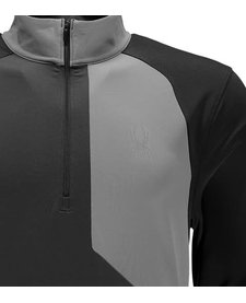 Spyder Mens Charger Thermastretch T-Neck 099 Polar/Limestone/Black - (17/18)