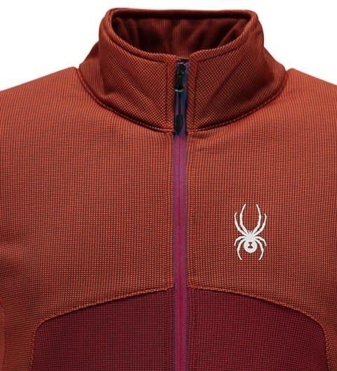 SPYDER Spyder Mens Capitol Full Zip Insulator Jacket 626 Burst/Red - (17/18)