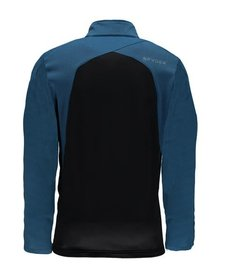 Spyder Mens Capitol Full Zip Insulator Jacket 434 French Blue/Black - (17/18)
