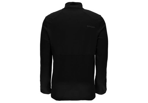 SPYDER Spyder Mens Pinnacle Merino T-Neck 018 Black/Black/Black - (17/18)