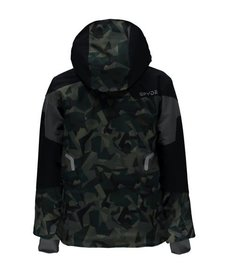 Spyder Boys Chambers Jacket 309 Mini Guard Camo/Black/Polar - (17/18)