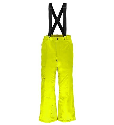 SPYDER Spyder Mens Troublemaker Tailored Pant 730 Bryte Yellow - (17/18)
