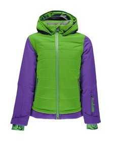 Spyder Girls Moxie Jacket 321 Fresh/Iris - (17/18)