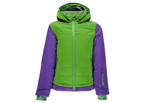 SPYDER Spyder Girls Moxie Jacket 321 Fresh/Iris - (17/18)