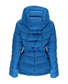 Spyder Womens Syrround Hoody Down Jacket 434 French Blue - (17/18)