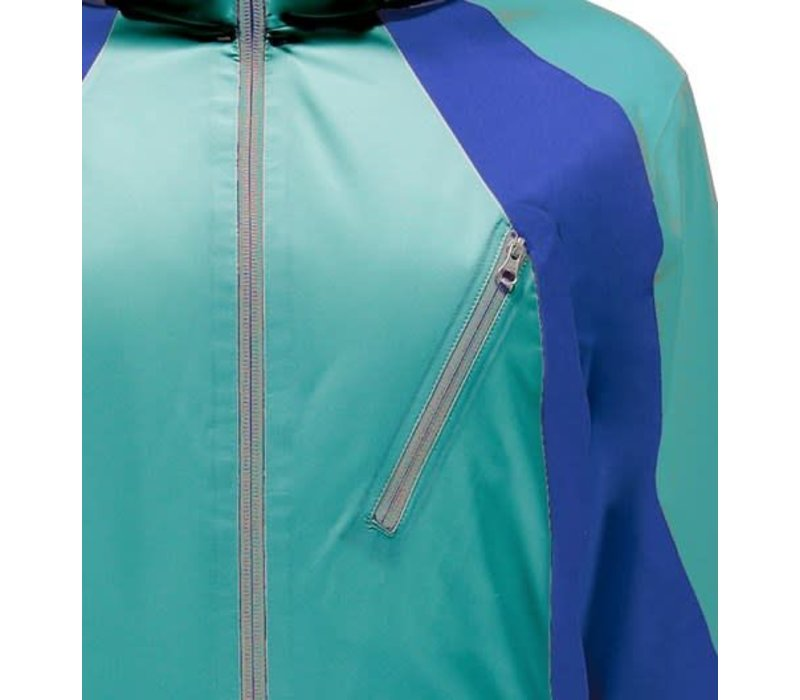 Spyder Womens Amp Jacket 449 Baltic/Baltic/Blue My Mind - (17/18)