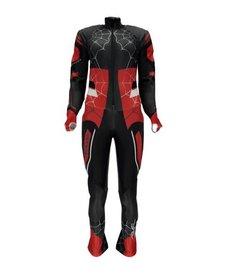 Spyder Girls Nine Ninety Race Suit 001 Black/Red/White - (17/18)