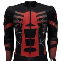 Spyder Mens Nine Ninety Race Suit 001 Black/Red/White - (17/18)
