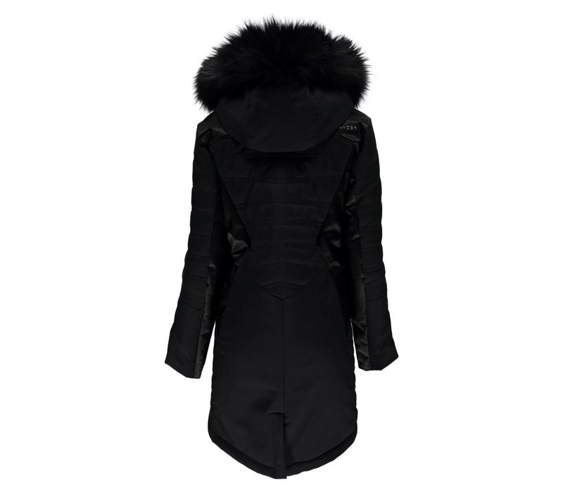 Spyder Womens Meribel Parka 001 Black/Black - (17/18)