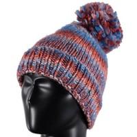 Spyder Bitsy Twisty Hat 100 White/Raspberry/Iris - (17/18) ONE SIZE