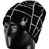 Spyder Boys Web Hat 016 Black/Glow - (17/18) ONE SIZE