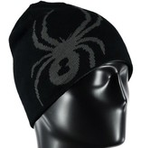 SPYDER Spyder Mens Reversible Innsbruck Hat 001 Black/Polar - (17/18) ONE SIZE