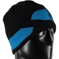Spyder Mens Shelby Hat 016 Black/French Blue - (17/18) ONE SIZE