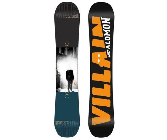 Salomon Salomon Mens The Villain Snowboard - (17/18)