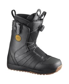 Salomon Launch BOA SJ Black Snowboard Boot - (17/18)