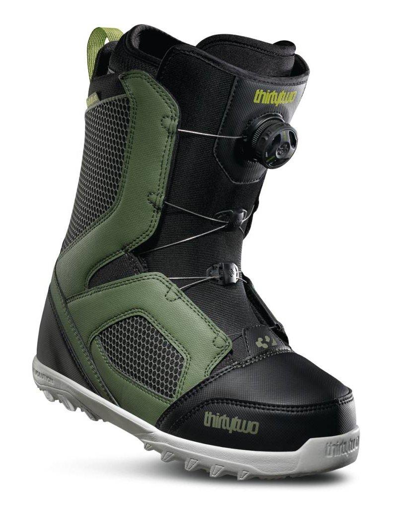 32 32 Mens Stw Boa '17 Snowboard Boot Olive/Black -302 (17/18)