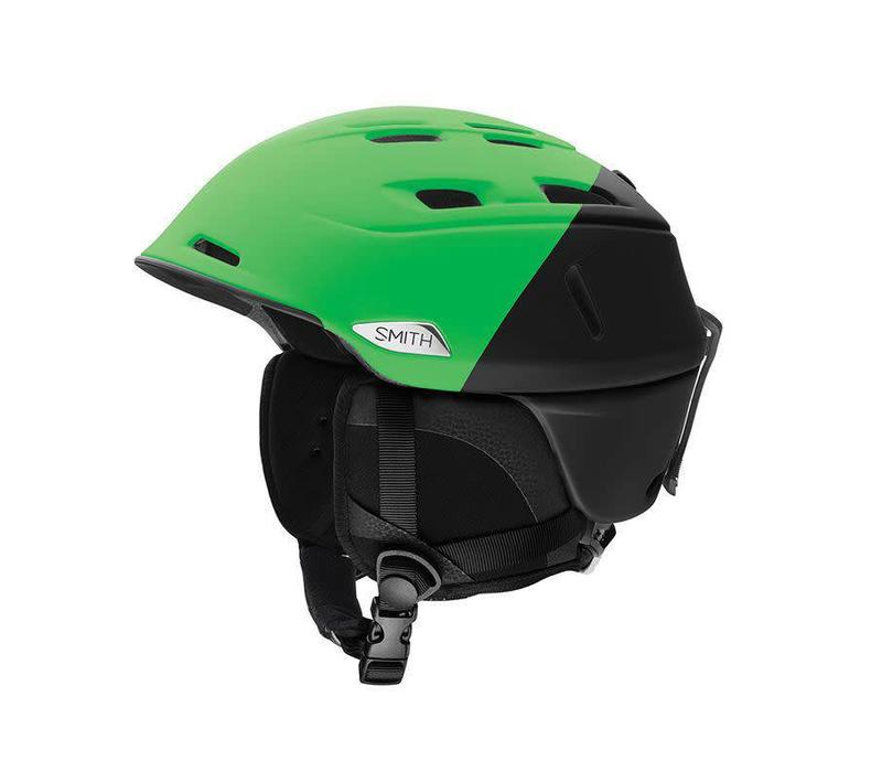 Smith Mens Camber Helmet Matte Reactor Split - (17/18)