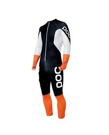 Poc Skin Gs Jr Race Suit Uranium Black/Hydrogen White -8002 (17/18)