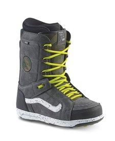 Vans Mens Hi-Standard Snowboard Boot (Howl) Black/Sulphur - (17/18)