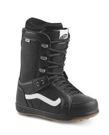 Vans Mens Hi-Standard Snowboard Boot Black/White 17 - (17/18)