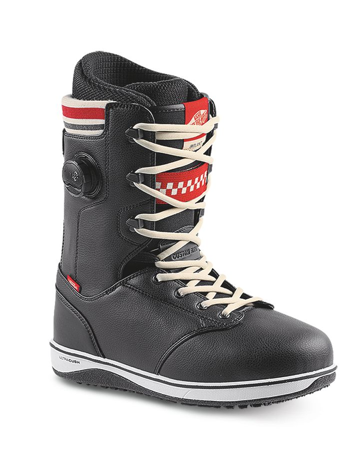 VANS Vans Mens Implant Snowboard Boot Black/Red - (17/18)