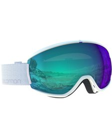 Salomon Womens Ivy Photo Wh/All Weather Blue Goggle - (17/18)
