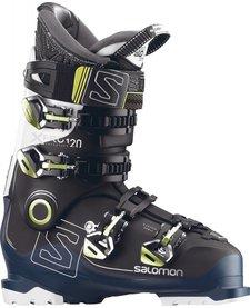 Salomon Mens X Pro 120 Black/Petrol Bl/Wh Ski Boot - (17/18)