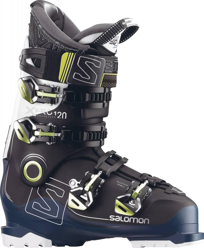 Salomon Salomon Mens X Pro 120 Black/Petrol Bl/Wh Ski Boot - (17/18)