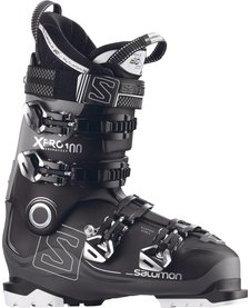 Salomon Mens X Pro 100 Black/Anthracite/Gy Ski Boot - (17/18)