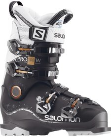 Salomon Womens X Pro 100 W Black/Anthra/Wh Ski Boot - (17/18)