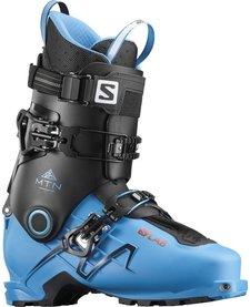 Salomon Mens S/Lab Mtn Transcend Blue/Bk Ski Boot - (17/18)