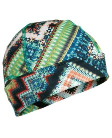 Turtle Fur Comfort Shell: Ponytail Conquest Beanie 577 Gem On The Rocks - (17/18)