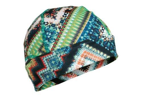 TURTLE FUR Turtle Fur Comfort Shell: Ponytail Conquest Beanie 577 Gem On The Rocks - (17/18)