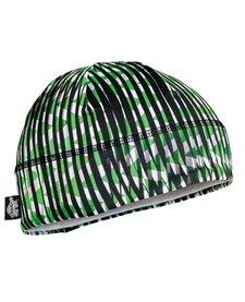 Turtle Fur Kids Comfort Shell: Brain Shroud Beanie 611 Field Of Greens - (17/18)