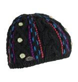 TURTLE FUR Turtle Fur Nepal: Gooliyo Beanie 101 Black - (17/18)