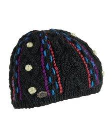 Turtle Fur Nepal: Gooliyo Beanie 101 Black - (17/18)