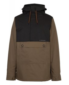 Armada Mens Rankin Stretch Anorak Burnt Olive -096 (17/18)
