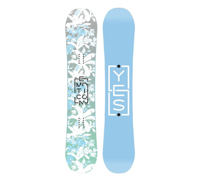 Yes Womens Emoticon Snowboard - (17/18)