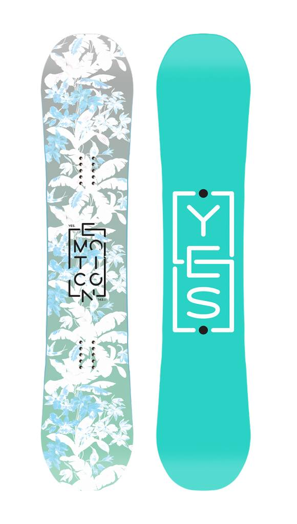 YES Yes Womens Emoticon Snowboard - (17/18)
