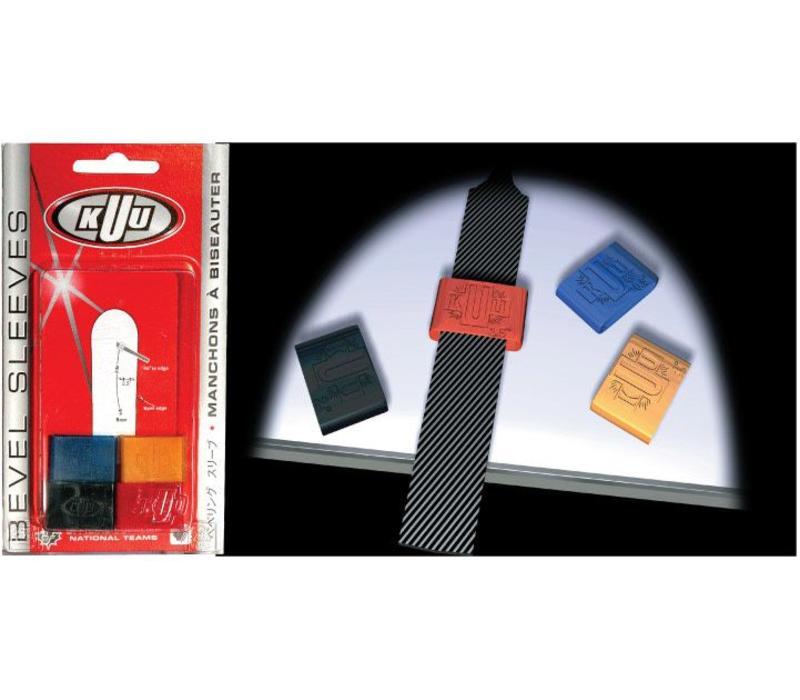 Kuu Bevel Sleeves - Yellow 1 Deg (4 PC)