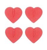 CRAB GRAB Crab Grab Mini Hearts - Red