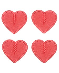 Crab Grab Mini Hearts - Red