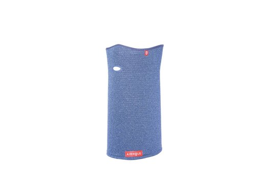 AIRHOLE Airhole Airtube Ergo - Waffle Knit - Tech Blue Facemask - (17/18)