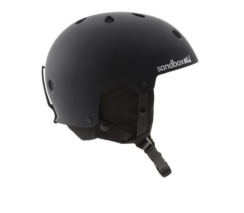 Sandbox Legend Snow Helmet Black (Matte) - (17/18)