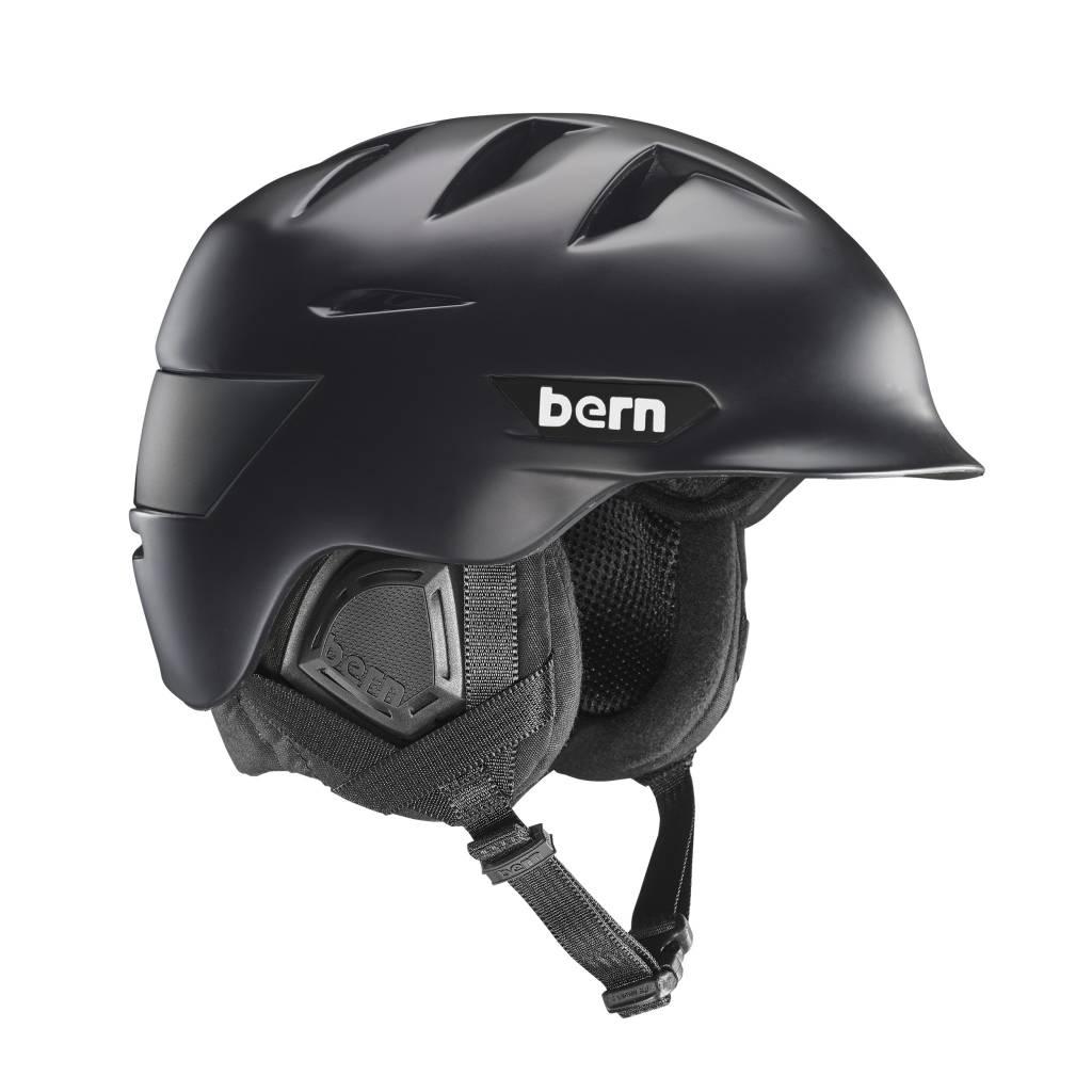 BERN Bern Mens Rollins Helmet Matte Black - (17/18)
