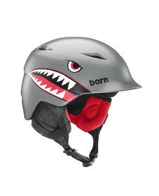Bern Boys Camino Helmet Grey Flying Tiger - (17/18)