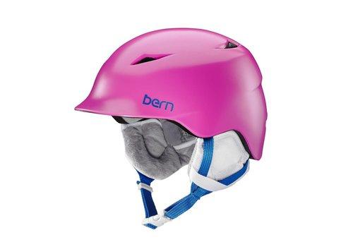 BERN Bern Girls Camina Helmet Satin Pink - (17/18)